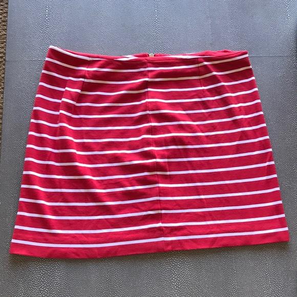 3558c45ad4 Banana Republic Skirts | Patriotic Redwhite Striped Skirt | Poshmark